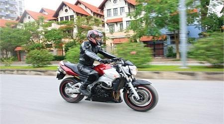 Thi bằng lái xe máy A2