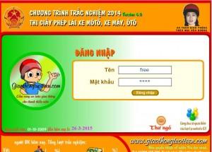 thi bằng lái xe máy trực tuyến 1