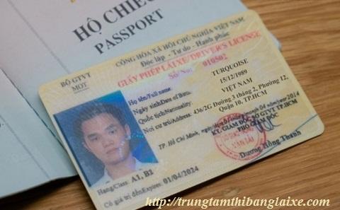 cấp bằng lái xe quốc tế