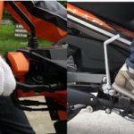 Sử dụng phanh xe máy phù hợp